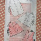 Louise Scott Men's Undershirt and Shorts Vintage 1940s New York Sewing Pattern 781