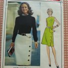 Vintage 70s Molyneux Misses Dress Vogue sewing pattern 2692