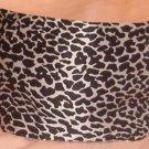 Rachel Weissman Headband White Cheetah Print