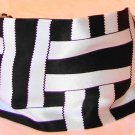 Rachel Weissman Headband Black and White cross design