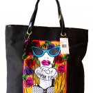 Betsey Johnson Handbag Super Betsey Face Shopper  2011