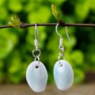 HANDMADE Porcelain celadon earrings