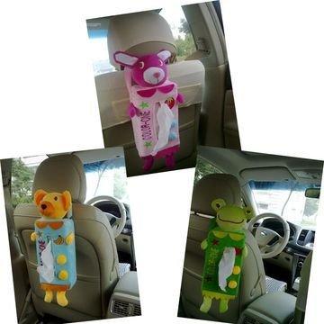 Cartoon Tissue Paper Box Case Cover Holder Car Seat