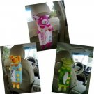 Cartoon Tissue Paper Box Case Cover Holder Car Seat