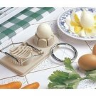 2 in 1 Double Egg Slicer Plastic Cutter Kitchen Gadget