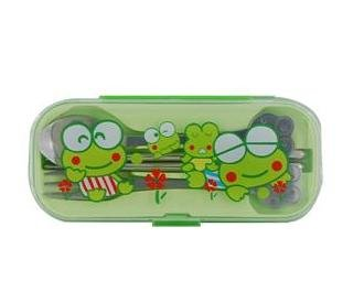 Cute Frog Tableware Set (Green)