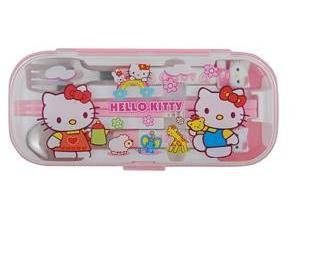 Cute Kitty Tableware Set (Pink)B