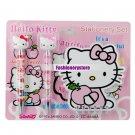 Kitty Ballpen Pencil Notebook Stationery Set (Pink)