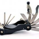 14 in 1Mini Pocket Steel Multi-tool Bike Repair Kit