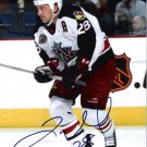 Tyler Wright Columbus Blue Jackets signed 8x10 photo
