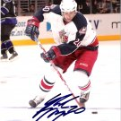 Michael Rupp Columbus Blue Jackets signed 8x10 photo