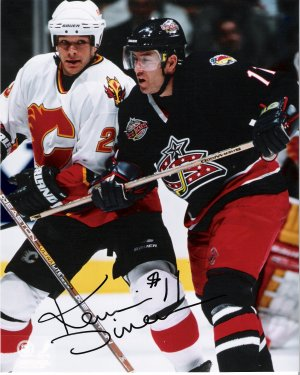 Kevin Dineen Columbus Blue Jackets signed 8x10 photo
