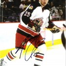 Andrew Cassells Columbus Blue Jackets signed 8x10 photo