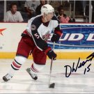 Duvie Westcott Columbus Blue Jackets signed 8x10 photo