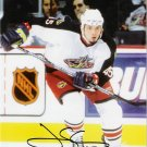 Jody Shelley Columbus Blue Jackets signed 8x10 photo