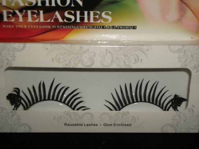 #21 Fashion fake reuseable eyelashes (butterfly picture) G NBU NBW NBO
