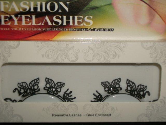 #26 Fashion fake reuseable eyelashes (leaves picture) G NBU NBW NBO