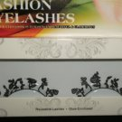 #28 Fashion fake reuseable eyelashes (flower picture) G NBU NBW NBO