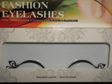 #42 Fashion fake reuseable eyelashes (leaves picture) G NBU NBW NBO
