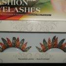 #55 Fashion fake reuseable eyelashes (colour pattern picture) G NBU NBW NBO