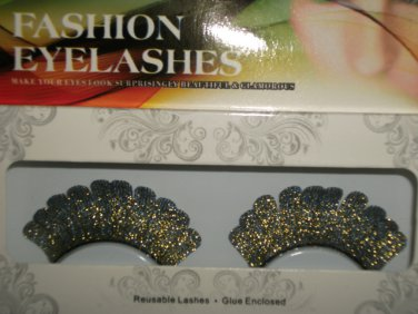 #56 Fashion fake reuseable eyelashes (colour pattern picture) G NBU NBW NBO