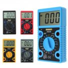 LCD Digital Voltmeter Ammeter Ohmmeter Multimeter Volt AC DC Tester Meter 0-1999 (Choose a colour)