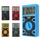 LCD Digital Voltmeter Ammeter Ohmmeter Multimeter Volt AC DC Tester Meter 0-1999 (Choose a colour)