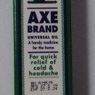 New Singapore Axe Brand Universal Medicated Oil 10ml Cold Headache Muscular Pain G NBU NWT NBO