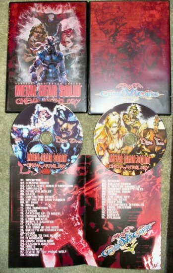 Metal Gear Solid Cinema Anthology