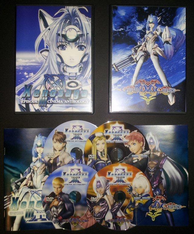 Xenosaga Episode III - Also sprach Zarathustra Cinema Anthology DVD Set