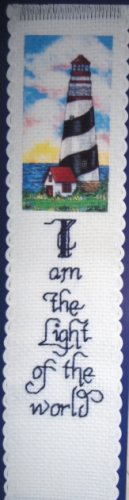 LIGHTHOUSE (bookmark) - embroidery