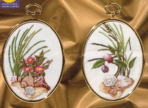 SEASIDE PAIR - embroidery