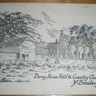 Dormy House Hotel & Country Club Broadway Postcard