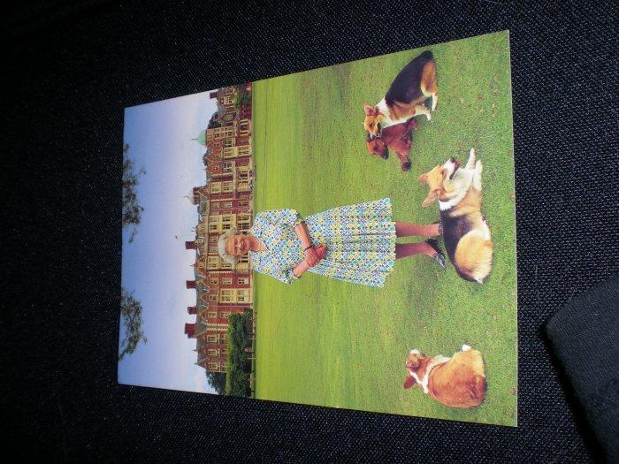 Golden Jubilee portrait of HM The Queen at Sandringham Postcard