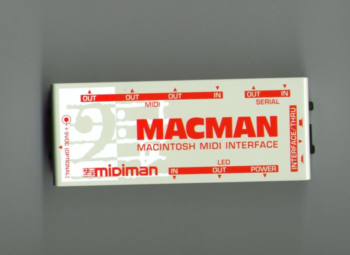 MIDIMAN MACMAN - MIDI Interface 1-In / 3-Out