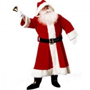 Old Time Santa Suit w/Hood