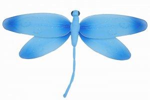 "10"""" Blue Swirl Dragonfly - nylon hanging ceiling wall nursery bedroom decor decoration decorations"
