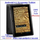"Andr0id 4.1 Tablet-Black ""Osiris"""