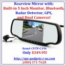 Bluetooth Car Cam-Radar Detector
