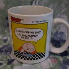 Ziggy Tom Wilson I Went Off My Diet Souvenir Tea Coffee Mug Cup