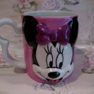 Minnie Mouse Disney Pink Souvenir Coffee Tea Mug Cup