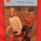 Vintage Canadian Styles Sweaters Cardigans Pullovers Knitting Patterns Family
