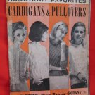 Vintage 1967 Sweaters Cardigans Pullovers Knitting Patterns Ladies