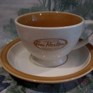 TIM HORTONS Coffee Tea Cup Mug and Saucer Always Fresh Souvenir