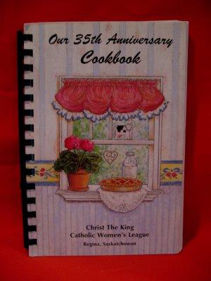 Christ The King Catholic Women's League Regina SK. Church Cookbook Recipes