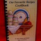 Vintage St. Mary Home and School Regina Cookbook Vintage Recipes