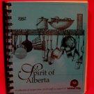 Spirit of Alberta ALCB Staff and United Way 1992 Cookbook Recipes