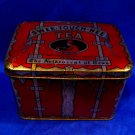 Antique 1913 Paris Expo Tea Tin Swee Touch Nee Orange Pekoe Asian Souvenir