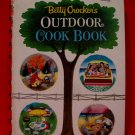 Vintage Betty Crockers Outdoor  Barbecue 1961 Cookbook Recipes