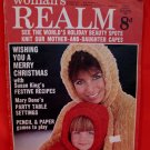 Vintage Dec. 28, 1968 Women's Realm Recipes Knitting Patterns Christmas